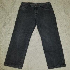Anchor Blue men's black jeans, 40x32